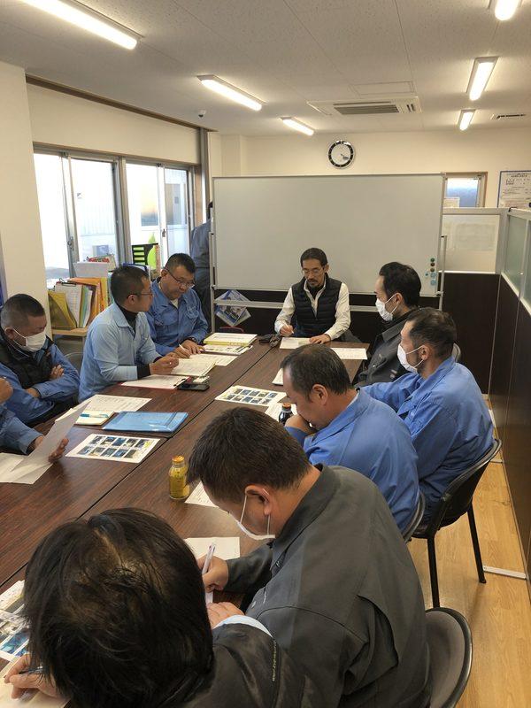 2019/11/14 令和元年11月度安全衛生会議開催