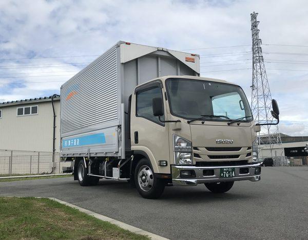 2020/07/20 新規事業のために2t貨物車を導入しました