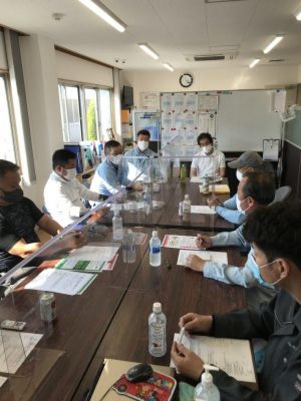 2021/06/10 5月度安全衛生会議開催